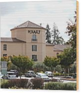 Vineyard Creek Hyatt Hotel Santa Rosa California 5d25866 Wood Print