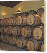 Vineyards In Va - 121237 Wood Print by DC Photographer