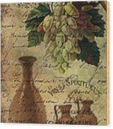 Vins Spiritueux Nectar Of The Gods Wood Print
