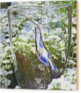 Vinsanchi Glass Art-3 Wood Print