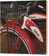 Vintage 1941 Boys And 1946 Girls Bicycle 5d25760 Vertical Wood Print