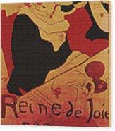 Vintage Art Poster Advertisement Entertainment Toulouse Lautrec 1892 Wood Print