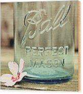 Vintage Ball Perfect Mason Wood Print