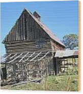 Vintage Barn Beauty Wood Print