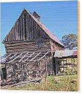 Vintage Barn Beauty II Wood Print