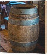 Vintage Barrel Wood Print
