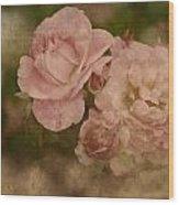 Vintage Beauties Wood Print