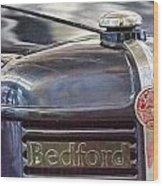 Vintage Bedford Truck Wood Print