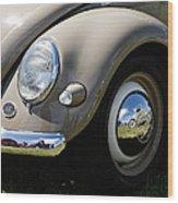 Vintage Beetle Wood Print