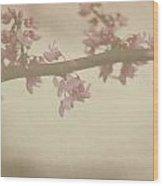 Vintage Bloom Wood Print