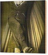 Vintage Boy Wood Print