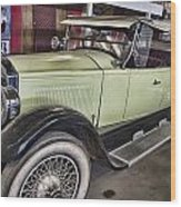 Vintage Bugatti  Wood Print