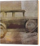 Vintage Buick Wood Print by David Ridley