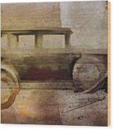 Vintage Buick Wood Print