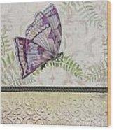 Vintage Butterfly-jp2568 Wood Print