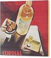 Vintage Campari Wood Print