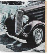 Vintage Ford Car Art 1 Wood Print