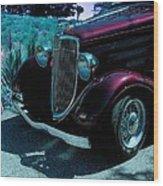 Vintage Ford Car Art II Wood Print