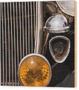 Vintage Car Details 6294 Wood Print