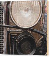 Vintage Car Details 6295 Wood Print