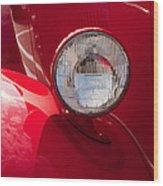Vintage Car Details 6298 Wood Print