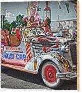 Vintage Chevrolet In Seligman Wood Print
