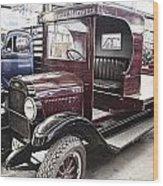 Vintage Chevrolet Pickup Truck Wood Print