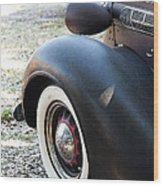 Vintage Chrysler Automobile Poster Look II Usa Wood Print
