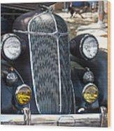 Vintage Chrysler Automobile Poster Look IIi Usa Wood Print