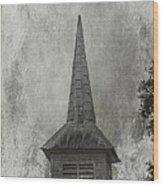 Vintage Church Wood Print