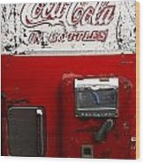 Vintage Coca Cola Wood Print
