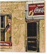 Vintage Colas Wood Print