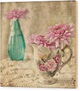 Vintage Color Wood Print