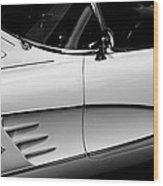 Vintage Corvette 4b Wood Print