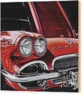 Vintage Corvette  Wood Print