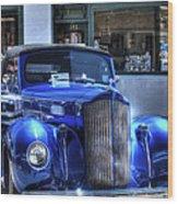 Vintage Cruise Cars 3 Wood Print