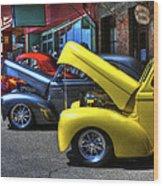 Vintage Cruise Cars 7 Wood Print