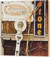 Vintage Crush Wood Print