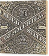 Vintage Currency  Wood Print by Chris Berry