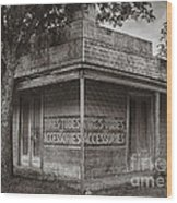 Vintage D'hanis Texas Business Wood Print