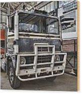 Vintage Dodge Truck Wood Print