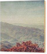 Vintage Fall Wood Print