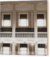 Vintage Faneuil Hall Wood Print by John Rizzuto