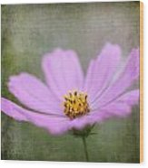 Vintage Flower Wood Print