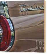 Vintage Ford Thunderbird Wood Print