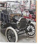 Vintage Ford Vehicle Wood Print