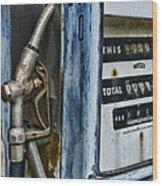 Vintage Gas Pump 2 Wood Print