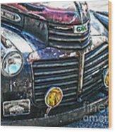 Vintage Gm Truck Hdr 2 Grill Art Wood Print