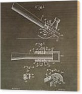 Vintage Hammer Patent Wood Print