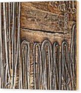 Vintage Harnessing Wood Print